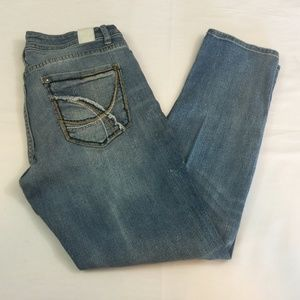 Maurices Size 6 Destroyed Skinny Jeans